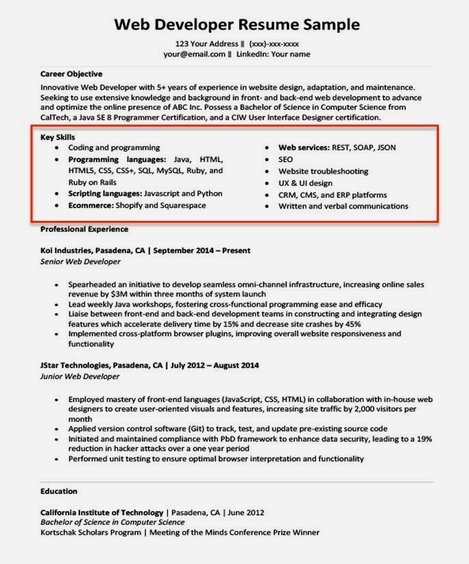 receptionist resume examples