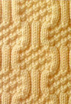 Knit stitch pattern №106