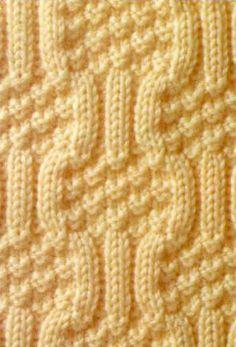 Knit stitch pattern №106