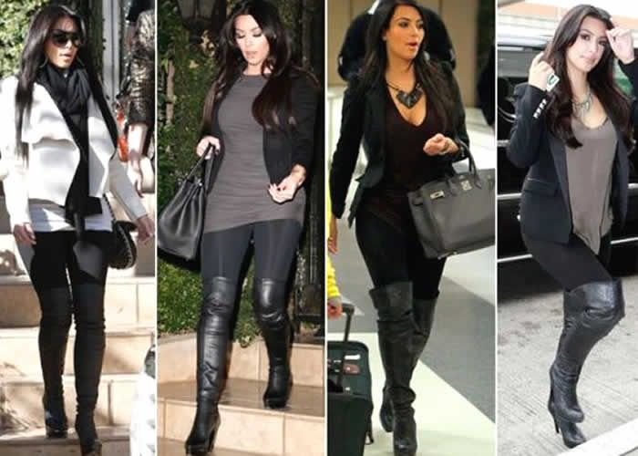 Plus Size Over The Knee Boots - Cr Boot