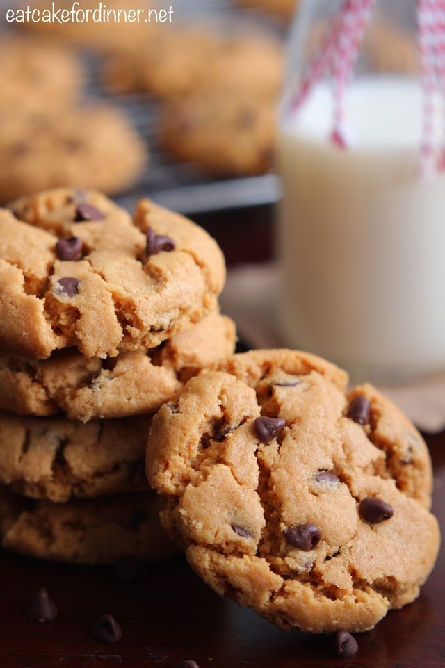 This is my first ever cookie recipe without flour and I am very impressed. This recipe is so stinkin simple to make. I bet you have all of the ingredients on hand and you don't even have to bust out