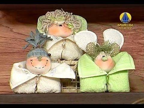 Sabor de Vida   Trio de Toalhinhas Natalinas - 31 de Outubro de 2012 - YouTube