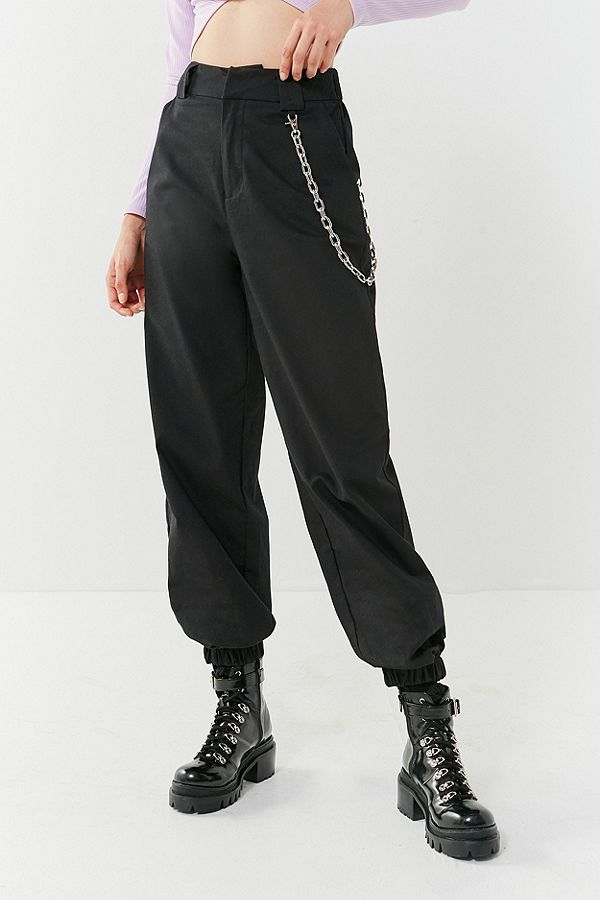 c58234ecd759c4 Image result for black pants with chain lisa | Pants in 2019 ...