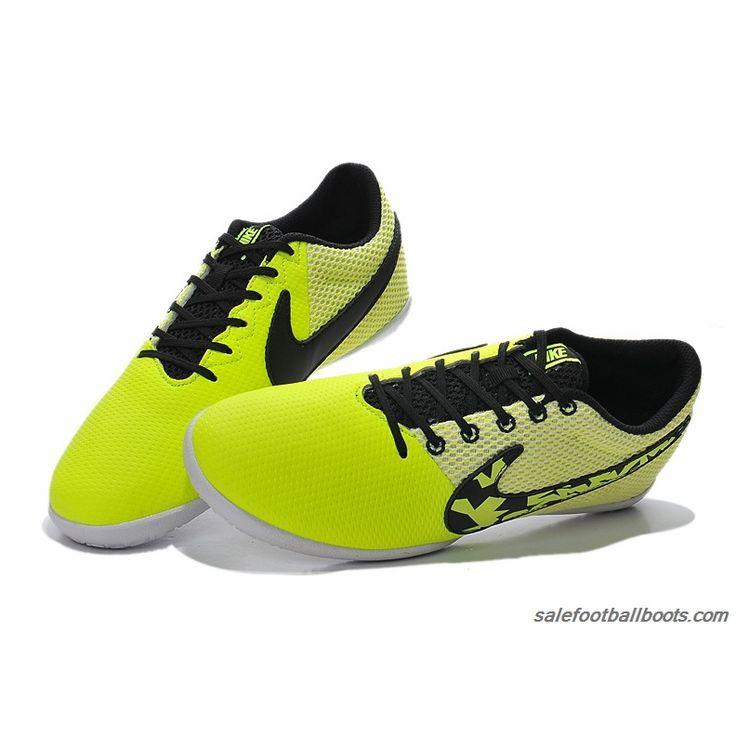 2015 Nike Elastico Pro III T5 IC Fluorescent Green Black $61.99
