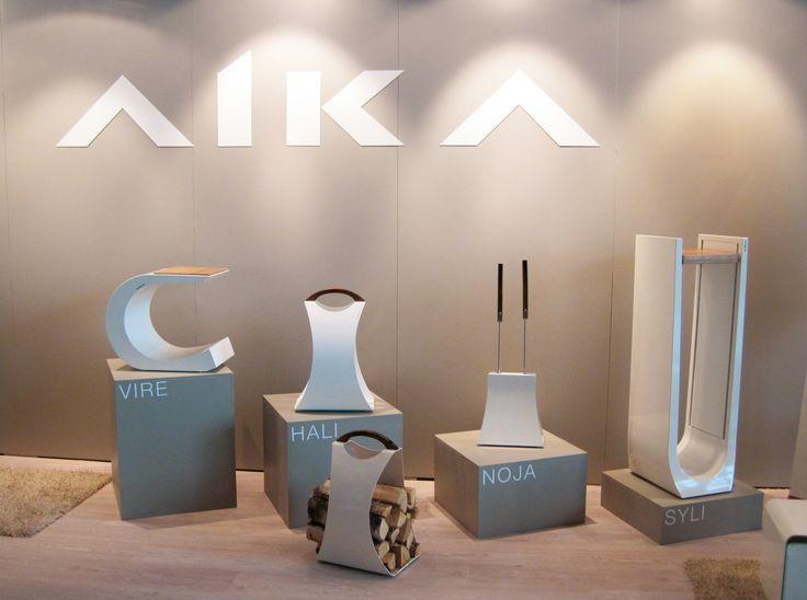 Habitare 2013. AIKA tulisijan tuotteet. Suunnittelija Henri Sydänheimo. - AIKA fireplace equipment. Designer Henri Sydänheimo. Saatavilla/Available in: http://www.taloon.com/ds/hakutulokset?b=Aika