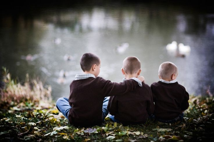 Love this of three brothers--  Chicago Children's Photography by Marmalade Photography -