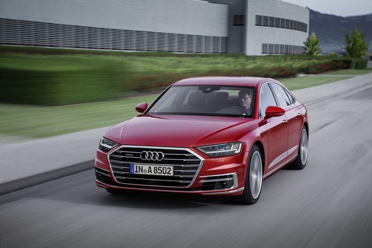 Audi A8 L 2017 D5 Front ansicht