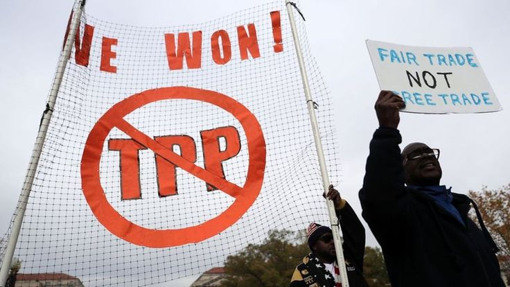 Trump: US to quit TPP trade deal on first day in office http://www.bbc.co.uk/news/world-us-canada-38059623?utm_source=rss&utm_medium=Sendible&utm_campaign=RSS