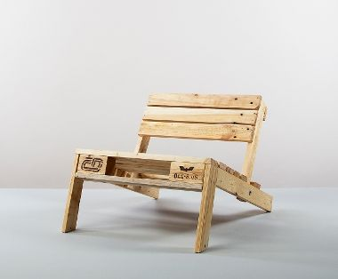 Paletten-Sessel # Paletten #Möbel #Wohnzimmer #Garten