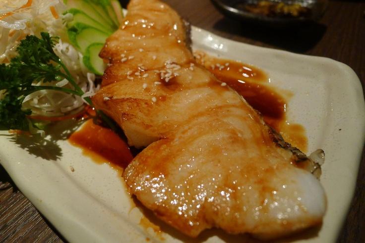 Snow Fish (Gandiri)   Kaizen Sushi - Brunei
