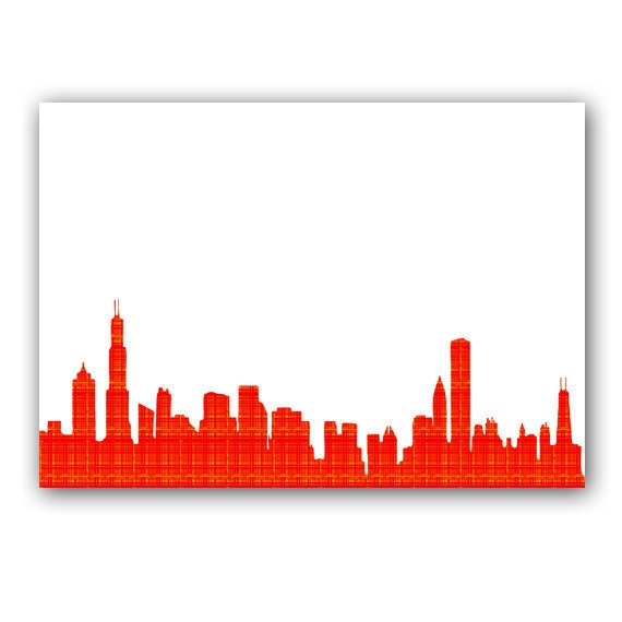 Chicago Skyline Wall Art 16 best chicago images on pinterest | chicago, chicago skyline and