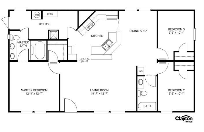 Clayton Homes Clayton Homes Modular Homes Floor Plans