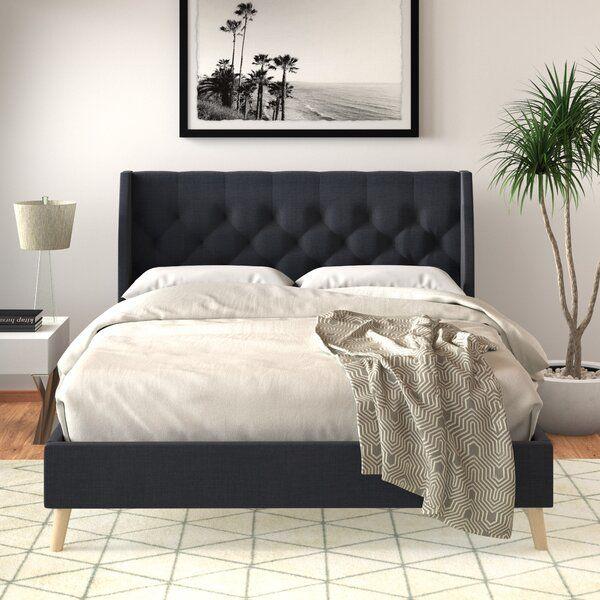 Her Majesty Upholstered Platform Bed, Her Majesty Upholstered Platform Bed Queen