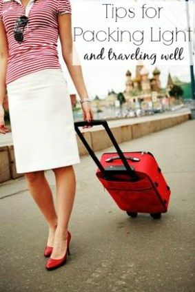 pack light and travel well!
