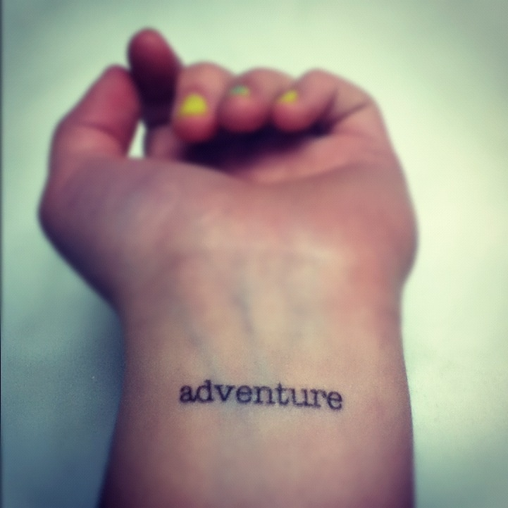 It's out there for everyone #tattoo #adventure