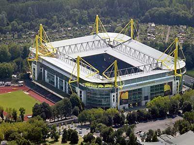 Westfalen Stadion (Signal Iduna Park) - Borussia Dortmund.