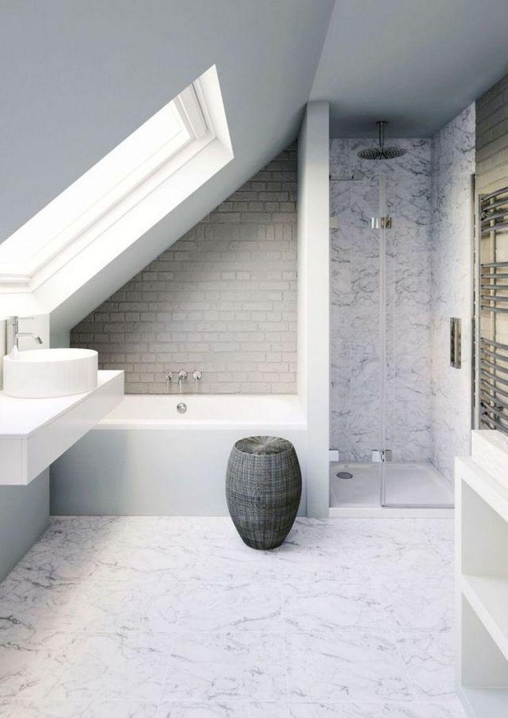 Breathtaking Attic Bathroom Ideas Bathroom Remodel In 2020 Small Bathroom Remodel Small Attic Bathroom Loft Bathroom