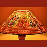 Lamp Shades,Indiacraft,Lamp Shades of the shadow puppetry art form