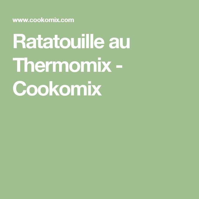 Ratatouille au Thermomix - Cookomix