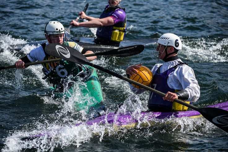 Canoe Polo Tackle by TomClare