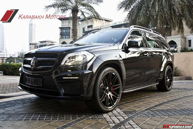 Mercedes GL 63 AMG Brabus 620 Widestar by Karabakh Motors