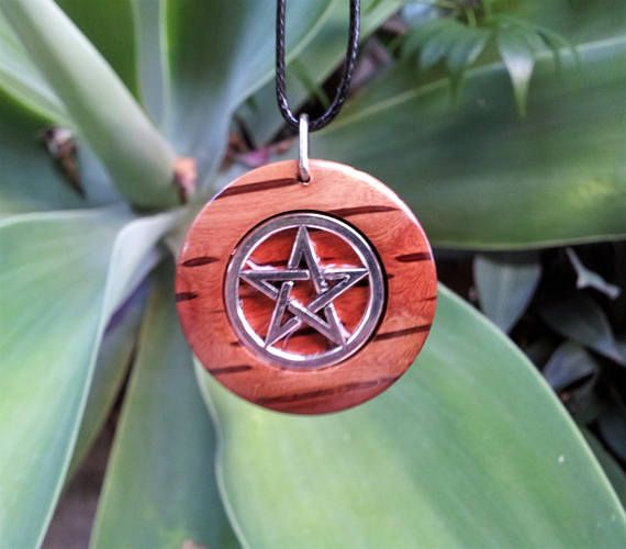 Pentacle Necklace in She Oak Free Shipping Pentacle Jewelry