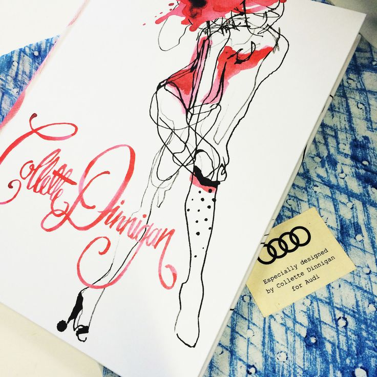 Collette Dinnigan Obsessive Creative  The perfect Saturday morning read, the InStyle team is feeling inspired by this amazing designer's incredible photos and illustrations. An exclusive gift from Audi, each copy was signed by Collette Dinnigan and came with a silk tote.