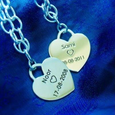 Silber Bettelarmband mit Herz €29.90