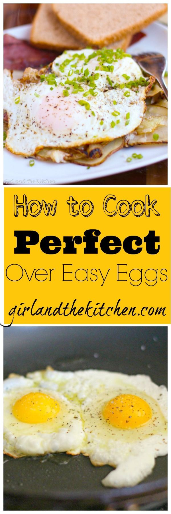 Cooking 101...Perfect Over Easy Eggs  (1 of 6)