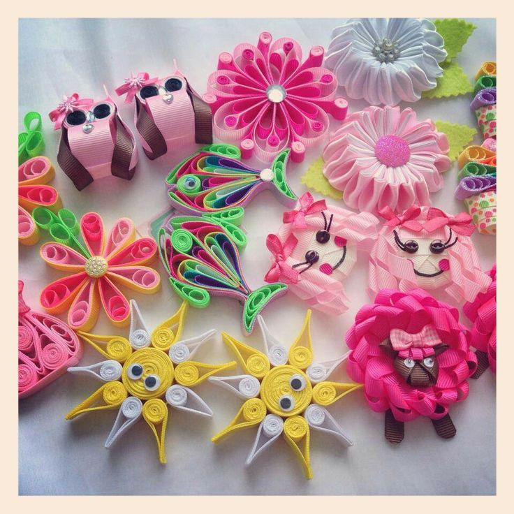 hair bow designs and instructions