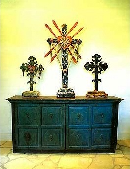 Mexican Devotional Decor: Crosses   Mexican Staples In Decoration