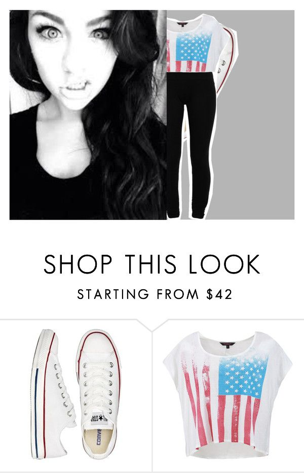 """[ I love it when you just don't care I love it when you dance like there's nobody there ]ootd/ootn[ shaun mendes]"" by kaci-horan ❤ liked on Polyvore featuring Converse and LnA"