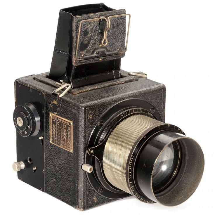 "Ihagee Highlight: ""Nachtkamera 4,5 x 6"" with Plasmat 1,5, c. 1930"