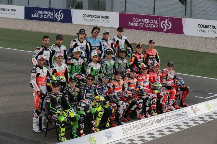 MotoGP rider line-up, Qatar MotoGP 2014