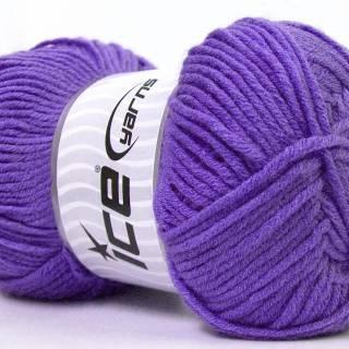 Benang Rajut Impor Ice Feriye Ince Lilac 10