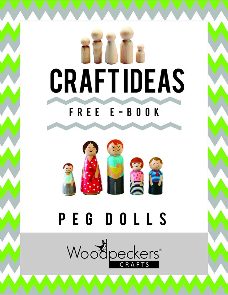 The 12 best memories images on pinterest remember this beautiful woodpeckers decorative wooden doll people assorted sizes set of 40 includes 5 shapes fandeluxe Gallery