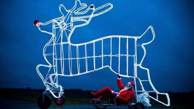 Dünya Çapında İlginç Karelerle Noel Kutlamaları