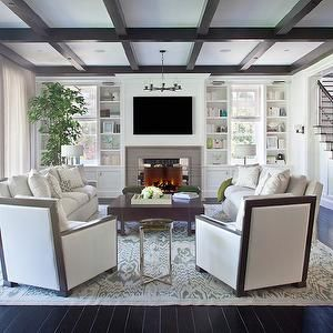 How To Arrange Furniture Around A Fireplace By Diy Home