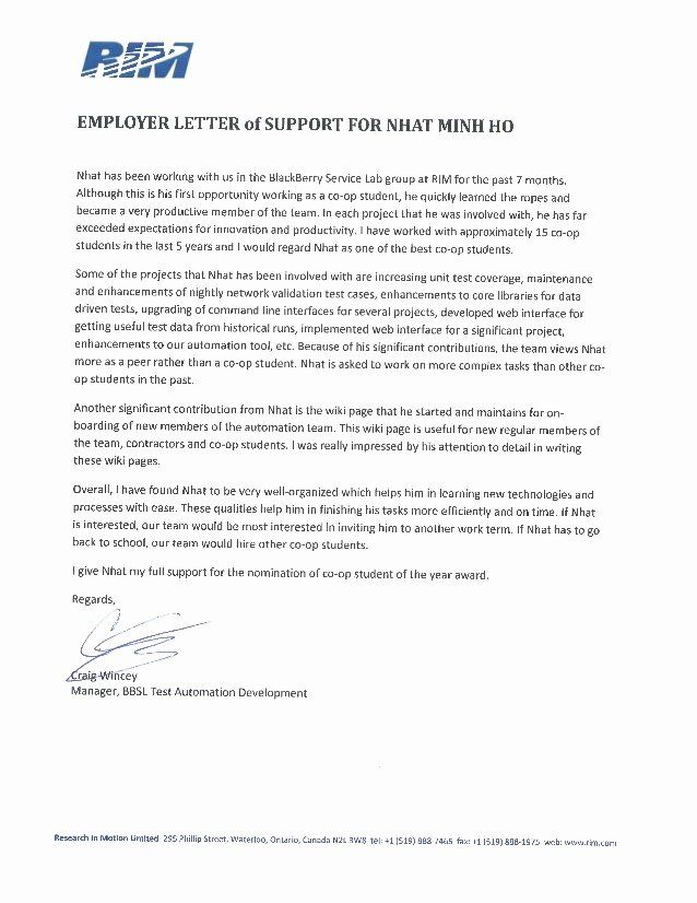 Supporting Letter From Employer from i.pinimg.com