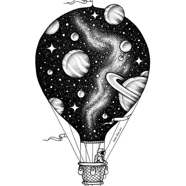 20+ Illustration, die die Tiefe des Weltraums darstellt: Enkel Dika