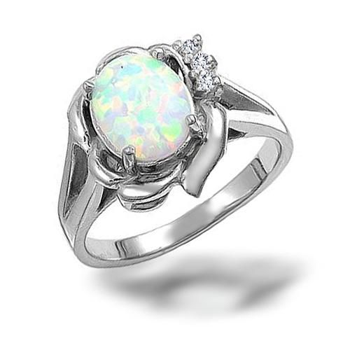 Non Diamond Engagement Rings 12