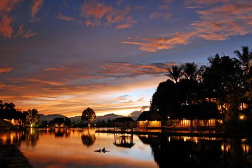 Sore di Kampung Sampireun - Afternoon at Sampireun Village