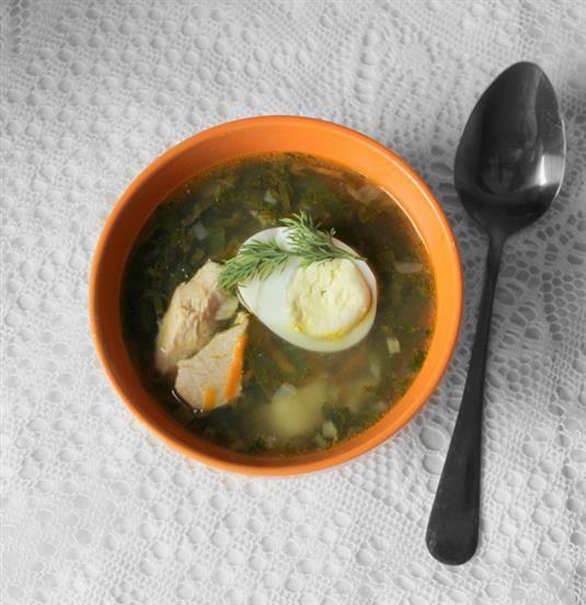 РЕЦЕПТЫ И СОВЕТЫ ХОЗЯЙКАМ: Зеленый суп из щавеля и крапивы