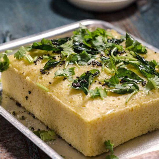 77 best dhokla khaman dhokla images on pinterest gujarati food instant khaman dhokla recipe savory gram flour cake with green chutney read recipe by jopreet forumfinder Gallery