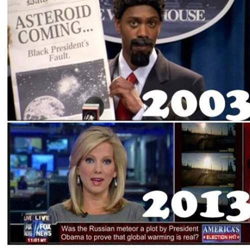 Dave Chapelle predicted Fox news - yet another indication that conservatives have NO sense of humor.