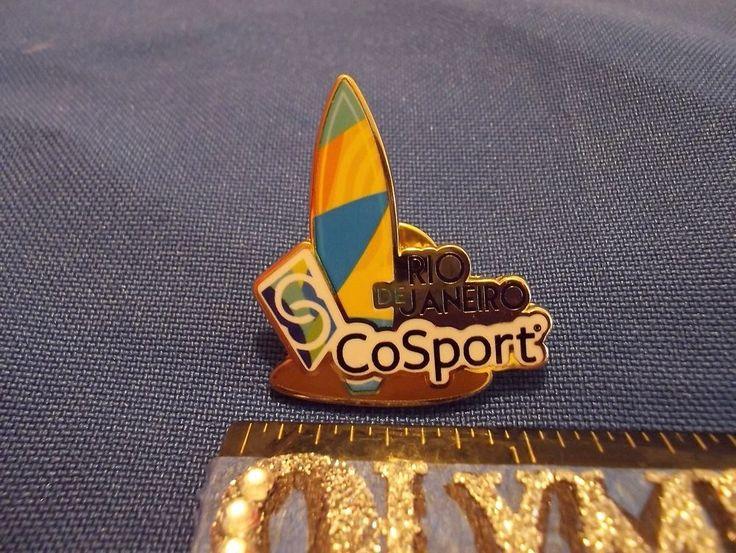 2016 Rio Olympic Sponsor Pin CoSport Surfboard Pin