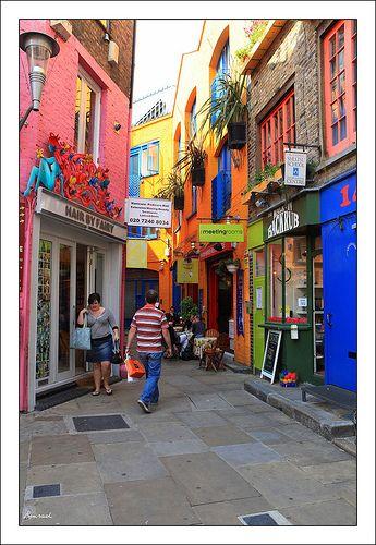 Neal's Yard, Camden Town, London