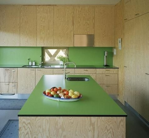 Modern plywood kitchen