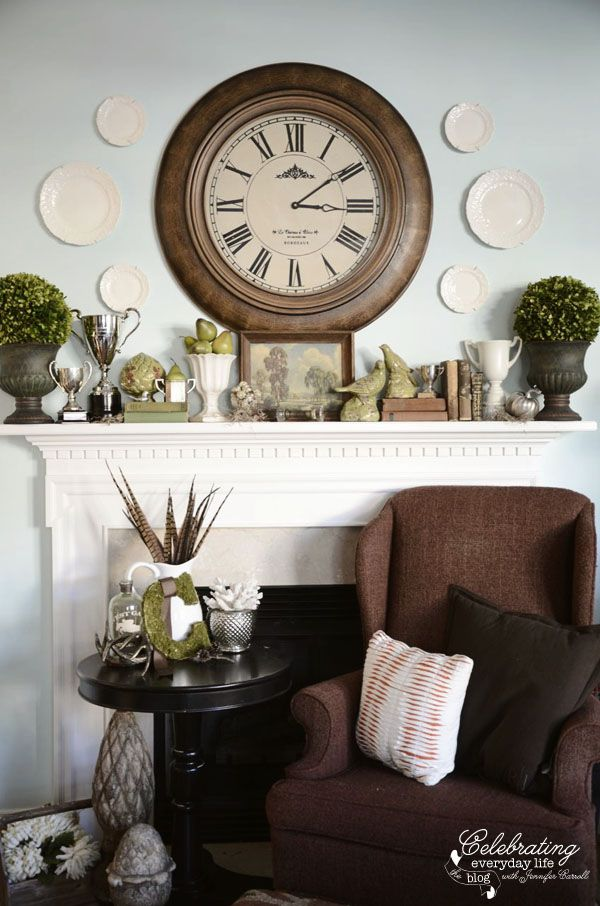 96 Best Mantel Shelf Decor Images On Pinterest