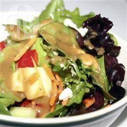 Foto de la receta: Vinagreta balsámica con miel y mostaza